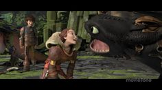 httyd2 ... hiccup , valka and toothless