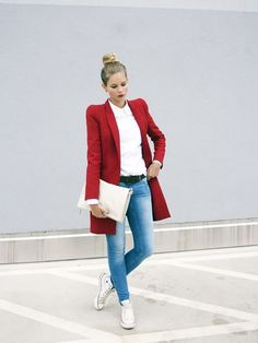 STYLIGHT  Mode   Schuhe online kaufen Rotes Kleid Outfit, Lässige Mode, Mode  Herbst 4cab33a871
