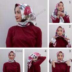 5 Tutorial Hijab Laudya Chintya Bella Simple untuk Sehari-hari dan Pesta - Tutorial Hijab