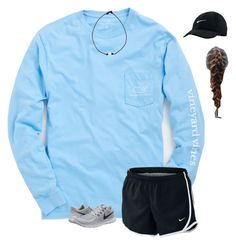 """""""Hope everyone has a good day!!"""" by liblu13 ❤ liked on Polyvore featuring Vineyard Vines and NIKE"""