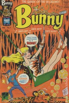 bunny ball harvey comic | Bunny (1966) comic books I think this is their best cover...and sadly, I don't have this issue yet!!  Wish I did.