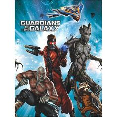 American Greetings Guardians of the Galaxy Plastic Table Cover 54 x 96 Party Supplies @ niftywarehouse.com #NiftyWarehouse #GuardiansOfTheGalaxy #Marvel #Movies #ComicBooks #Comics #MarvelMovies