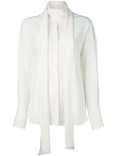 Chloé neck tie blouse