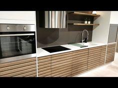 New Kitchen Inspiration, Modern Kitchen Design, Solid Oak, Kitchen Cabinets, Coffee, Furniture, Youtube, Home Decor, Beige