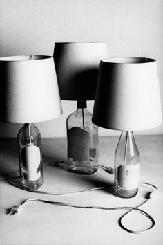 DIY | Bottle Lamp