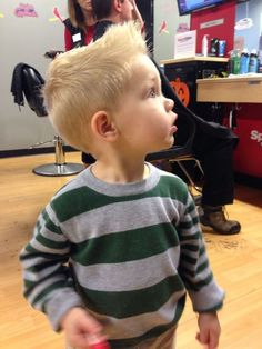 Little Boy Haircuts 128 - Kingstons New Haircut - - Baby Hair - Baby Tips Baby Boy First Haircut, Cute Toddler Boy Haircuts, Boy Haircuts Short, Little Boy Hairstyles, Baby Boy Haircuts, Kids Cuts, Boy Cuts, Toddler Boy Fashion, Girl Fashion