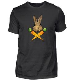 Karotte Kaninchen Hase Möhre Geschenk T-Shirt