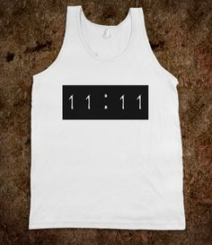 #wish #1111 #time #americanapparel #tshirt #shirt #tanktop #skreened