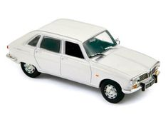 Norev 1:43 Renault 16 Diecast Model Car 511609 This Renault 16 (1974) Diecast Model Car is White and has working wheels and also comes in a display case. It is made by Norev and is 1:43 scale (approx. 9cm / 3.5in long).