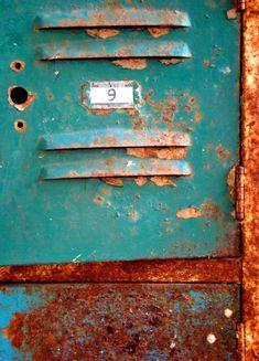 Vintage industrial color inspiration.