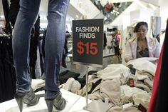 """Cheap clothing bad for the environment and your pocket book. Clothing chains like H (above) and Forever 21 design and distribute new styles so quickly and cheaply, they've been dubbed """"fast fashion"""" retailers."""