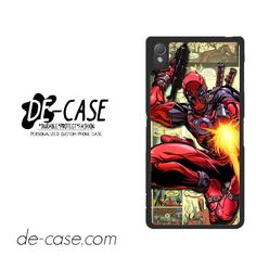 Deadpool Cool For Sony Xperia Z3 Case Phone Case Gift Present YO