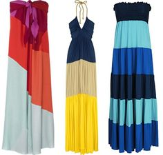 I heart maxi dresses.  No matter what shape your in - you look good!
