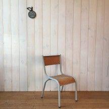 Chaise Enfant Pagholz Pietement Croix Rouge Et Noire Chair Kid Designer Noir