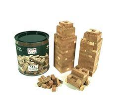 Eco-bricks Wooden Construction Bricks, 145 Piece Eco-bricks http://www.amazon.com/dp/B01AW40F1M/ref=cm_sw_r_pi_dp_epW6wb0NBB2ZJ
