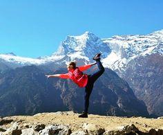 Mountains are the beginning and the end of all natural scenery. - John Ruskin.  Feeling the vibes of wanderlust?  #himalayangeographic #himalayas #travel #snowclad #mountains #yoga #yogaeverydamnday #gorgeous #instatraveling #havepassportwilltravel #volunteer #volsolindia #traveller #travelbug #yogainspiration #yogafit #cntraveler #yogapose #yogalove #mountainlove