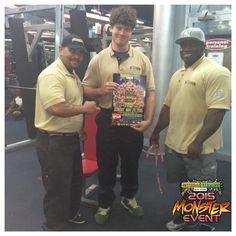 @NaturalVitamins Monster Event gym #TakeOver !!!