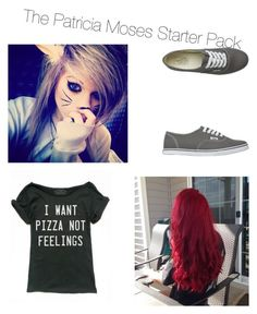 """Untitled #29"" by imbored-477 ❤ liked on Polyvore featuring Vans"