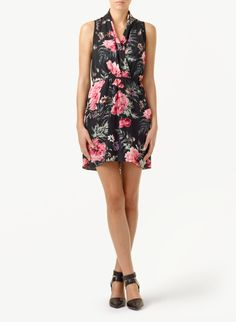 This romantic dress would also work well for Valentine's. In my closet.