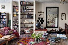 O descolado lar de um músico, em NY  (Foto: Bruce Buck / The New York Times)