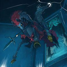 Great Phantom Ganon boss artwork from The Legend of Zelda: Ocarina of Time | #OoT
