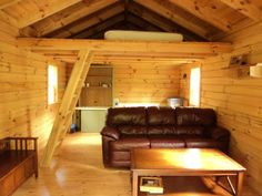 Small cabins with lofts click a smaller image above to for Mother in law log cabin