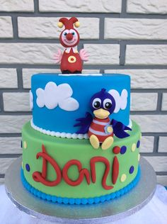 Jokie en Jet Taart Cake Ideas, Party Time, Holland, Fondant, Cake Decorating, Birthday Cake, Desserts, Recipes, Kids