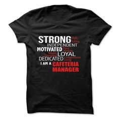 CAFETERIA MANAGER - L2 T SHIRT