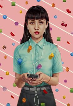 """Preview: """"Future Tense"""" by Alex Gross at Jonathan LeVine Gallery 