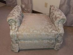 recliner back cushion removal