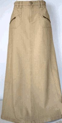 Totally need a long, jean skirt.   I want   Pinterest   The long ...