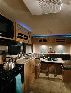 Awesome wowwwwww camper travel trailer interior