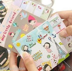 Look, aren't they cute! small kawaii notebooks