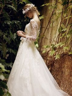 Elven wedding dress ~Pinning this as inspiration for when I get married years from now