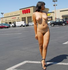 sexy women shoping at walmart