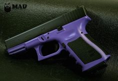 Glock 19 in Cerakote Bright Purple - thinking of doing this to mine