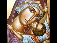 O Virgin Pure-Orthodox Byantine Chant Russian Orthodox, Orthodox Christianity, Daily Prayer, Orthodox Icons, Virgin Mary, Our Lady, Christian Faith, Holi