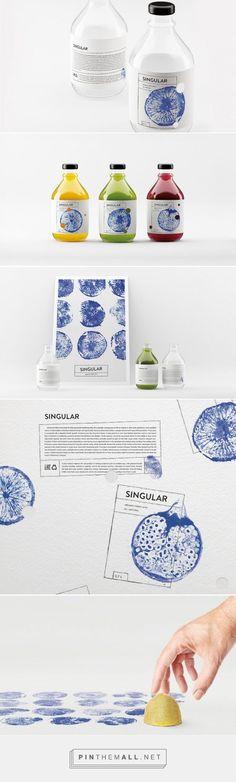 SINGULAR Fresh Juice packaging concept designed by Nikita Ivanov