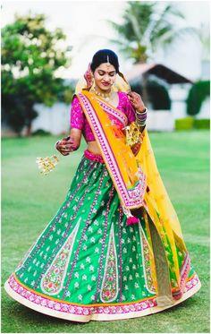 Vibrant Gujarati wedding photographs held at Jamnagar