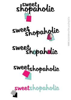 Logo Graphic Design : Jacinta Kee, Sweet Shopaholic