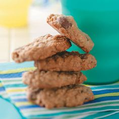 Oatmeal Surprise Cookies Recipe from Taste of Home -- shared by Rebecca Clark of Warrior, Alabama