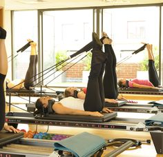 Reformer Pilates - My new favorite workout! Great for my back and knee rehab. Works every muscle in your body!