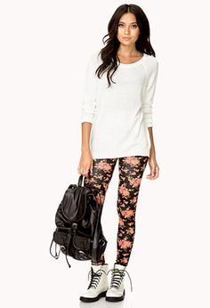 I'll definitely be looking for these leggings next time I go to Forever 21!