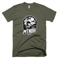 MTNBK Live To Ride T-Shirt - Lieutenant, available at www.MTNBK.com