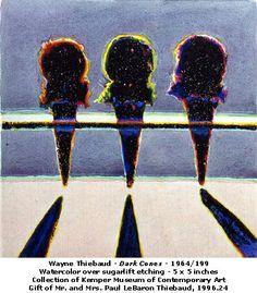 POP ART: WAYNE THIEBAUD: Lighting & Shadows