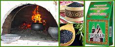 Черная соль – обычная поваренная крупная соль, обожженная в печи, которая имеет отношение к русской обрядовой кухне. Полезные свойства соли, как приготовить