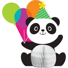 Panda-Monium This Panda-Monium Party Supplies Pack is adorable! Bring a colorful touch to your child's panda theme birthday party with our party bundle. Panda Themed Party, Panda Birthday Party, Panda Party, Birthday Party Celebration, Bear Party, Bear Birthday, Birthday Party Themes, 9th Birthday, Party Fun