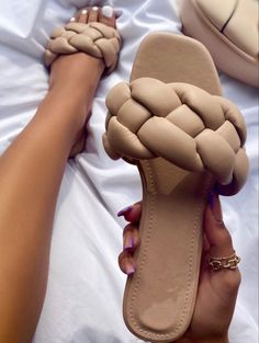 Cute Slides, Slip On, Nude, Sandals, Fitness, Color, Shoes, Collection, Fashion