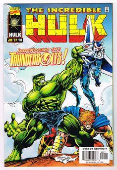 Hulk vs Thunderbolts  Incredible Hulk (Vol. 01, No. 449)