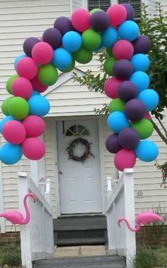 color scheme for balloons